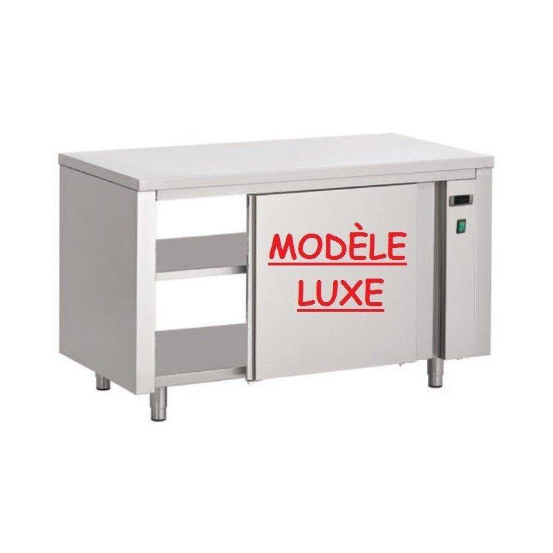 Table-armoire chauffante