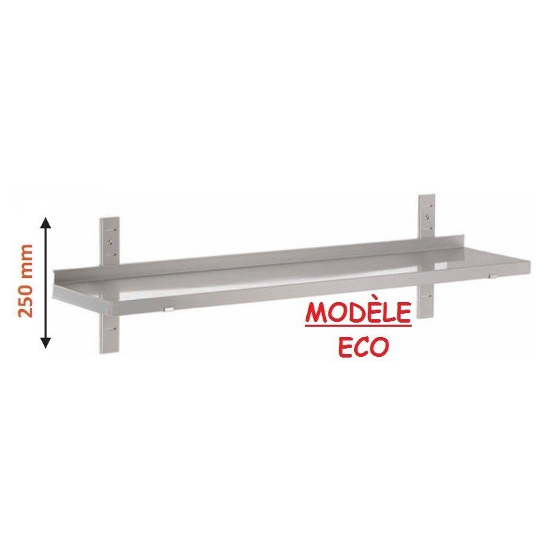 Étagère réglable 1 niveau de 700mm à 1600mm