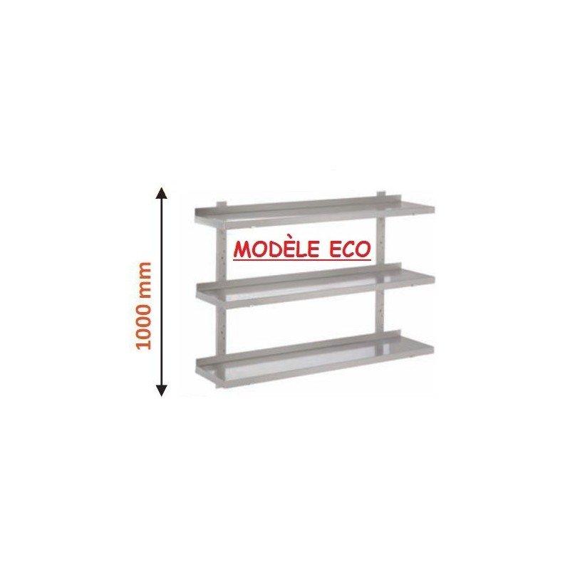 Étagère réglable 3 niveaux de 700mm à 1600mm