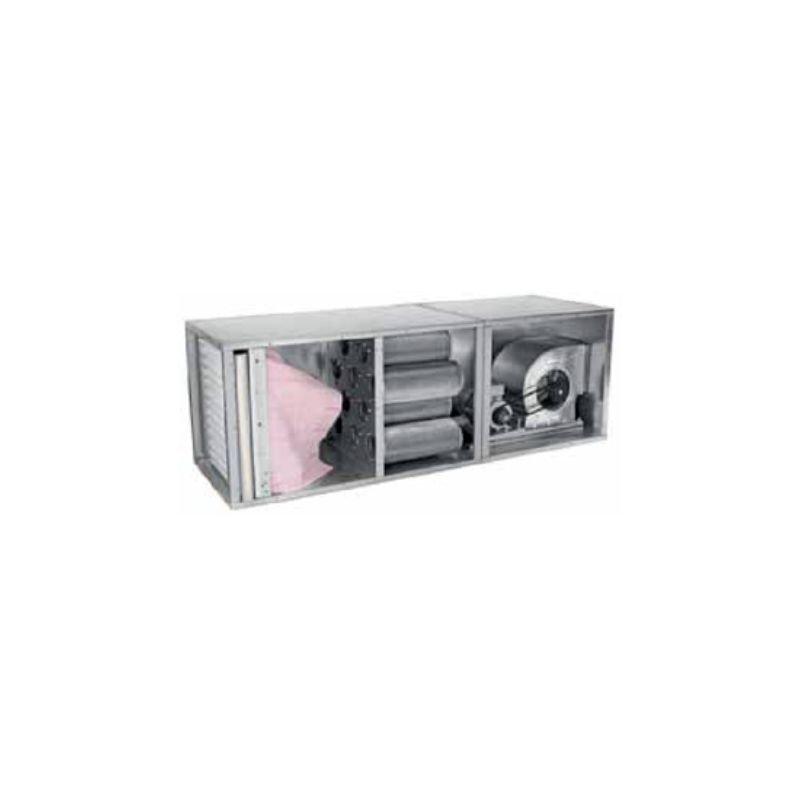 Caisson à charbon actif ( Filtre de boîte + filtre carbone + filtre sac + moteur )