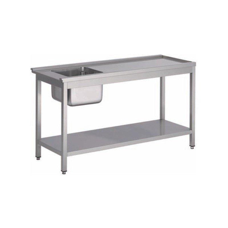 Table pour lave-vaisselle avec bac
