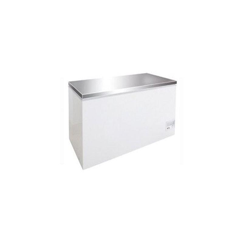 Congélateur inox 390L