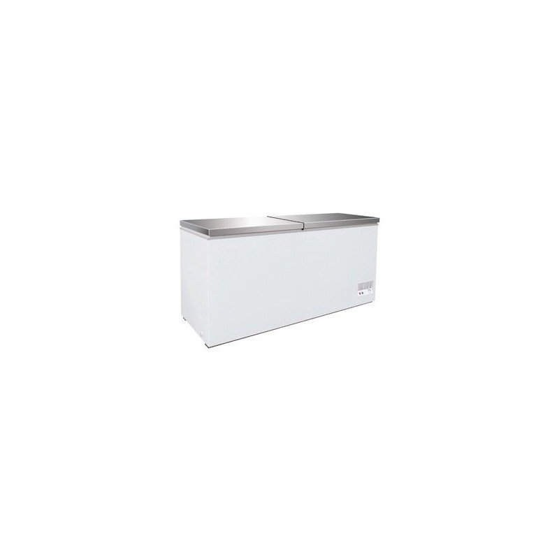 Congélateur inox 768L