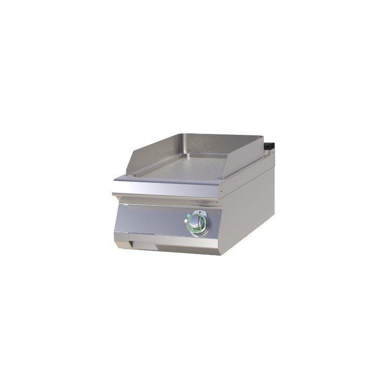 Plancha électrique en acier à plaque lisse