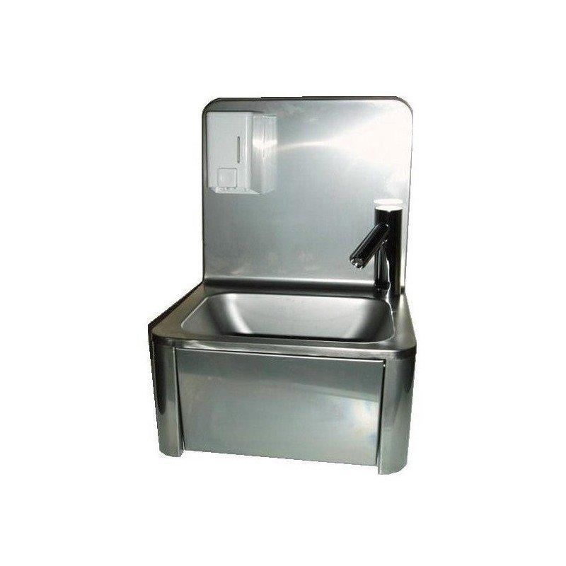Lave mains avec robinet électronique