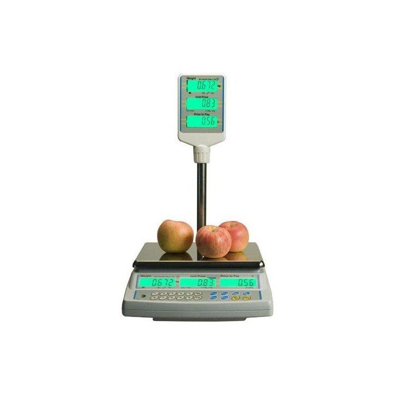 Balance poids-prix avec colonne