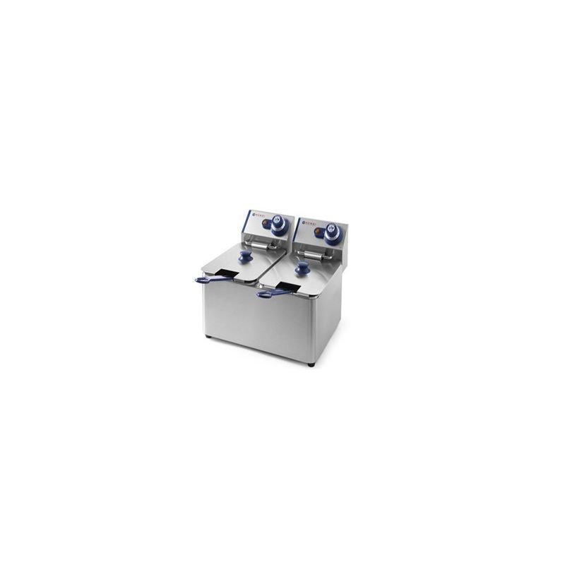 Friteuse électrique à poser 2x4L