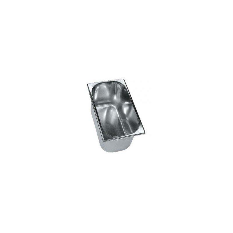 Bac à glace en inox (6,5L)