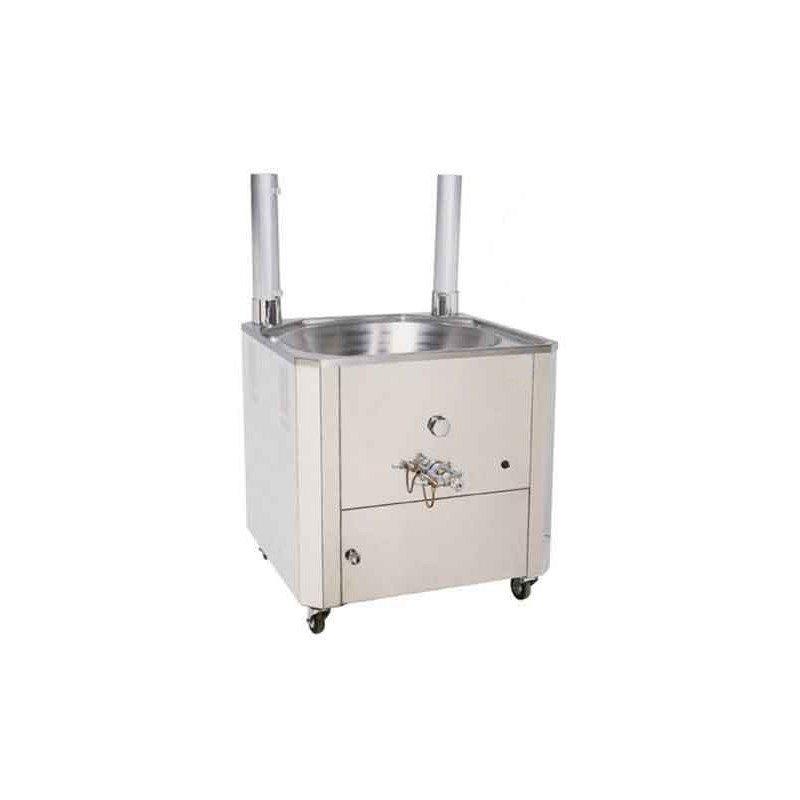 Friteuse gaz à churros sur meuble
