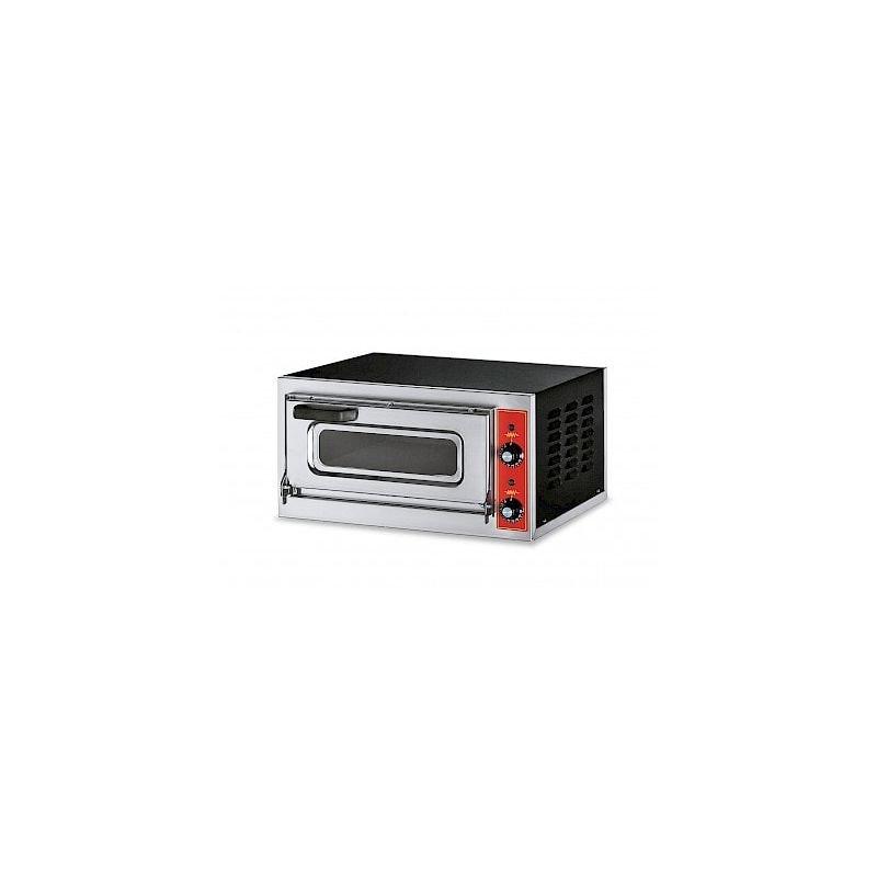Four à pizza électrique compact, hauteur 110 mm