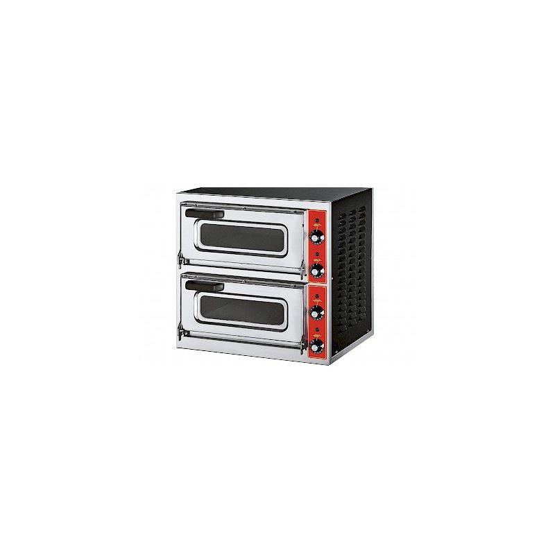 Four à pizza électrique compact, hauteur 535 mm