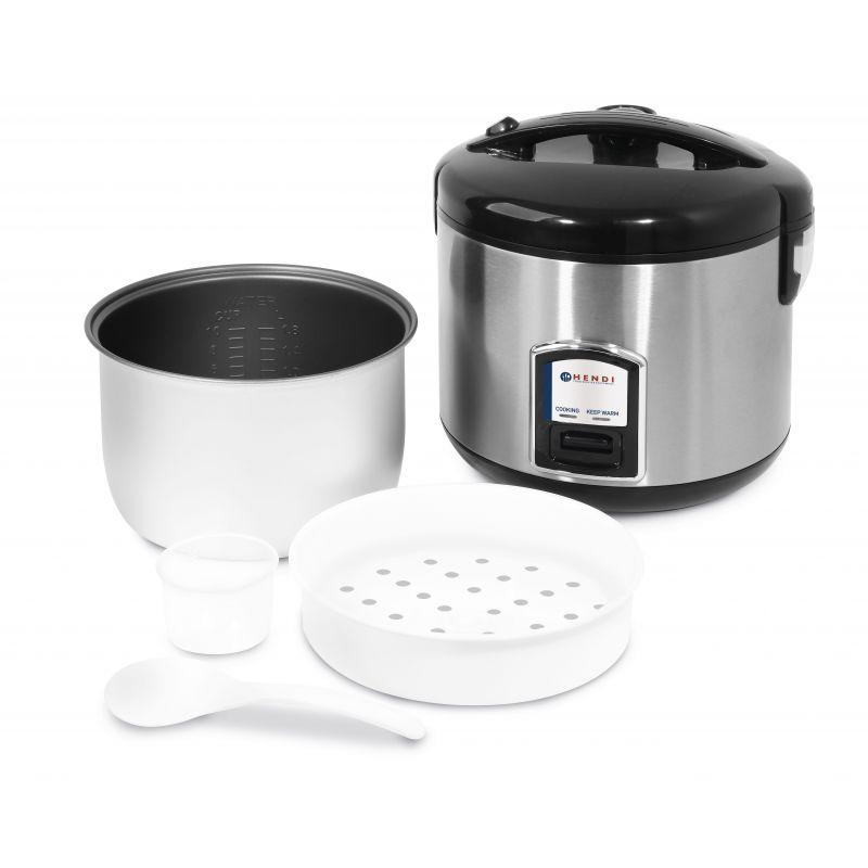 Cuiseur à riz 1,8 litres avec fonction cuisson vapeur