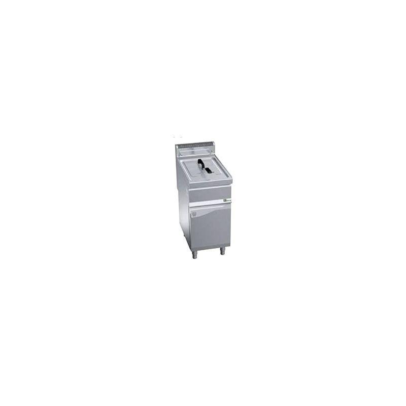 Friteuse à gaz sur coffre 15L avec vidange
