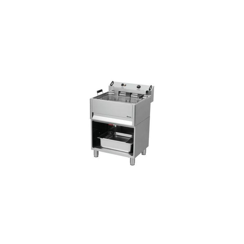 Friteuse à beignets électrique sur coffre 30L